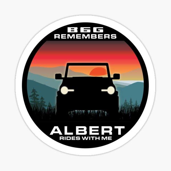 In Memory of Albert - Appalachia version Sticker
