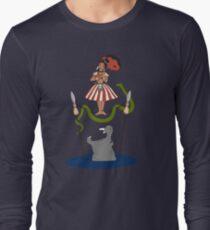 Jungle Cruise vs. Haunted Mansion Long Sleeve T-Shirt