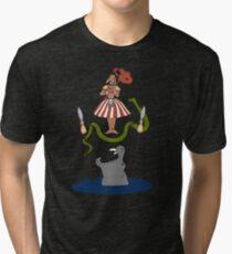 Jungle Cruise vs. Haunted Mansion Tri-blend T-Shirt
