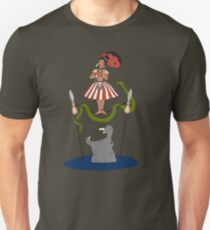 Jungle Cruise vs. Haunted Mansion Unisex T-Shirt