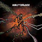 Wall Of Orange by mrmanface