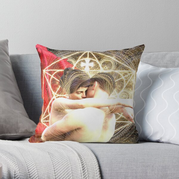 Integrating the Sacred Masculine Throw Pillow
