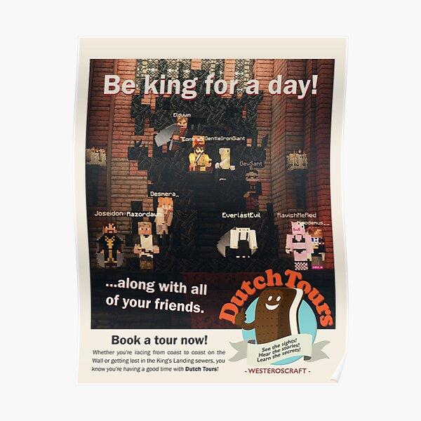 WesterosCraft Dutch Tours Poster Poster