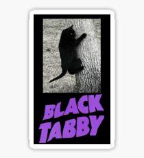 Black Tabby Sticker