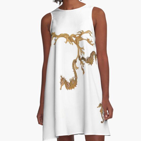 Seahorses A-Line Dress