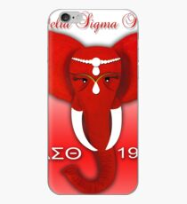 Delta Sigma Theta iPhone Case