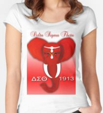 Delta Sigma Theta Women's Fitted Scoop T-Shirt