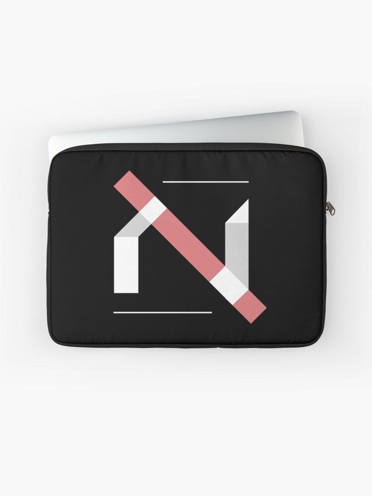 Minimalist Hebrew Alphabet - Alef | Laptop Sleeve