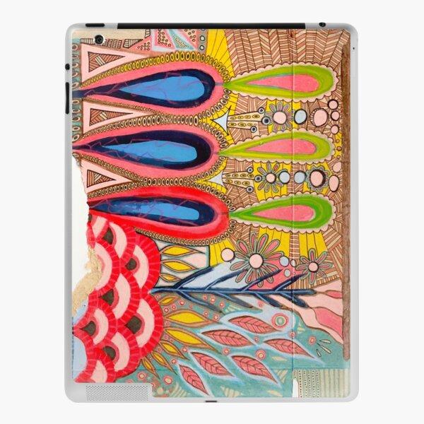 """Whimsical Garden"" II, recycled art iPad Skin"