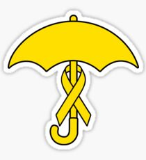 Umbrella Revolution 2014 Yellow Ribbon Movement Sticker