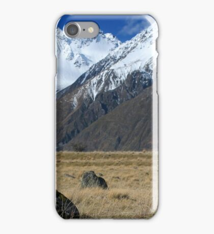 Mount Cook National Park iPhone Case/Skin