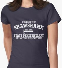Shawshank State Penitentiary - Shawshank Redemption  Women's Fitted T-Shirt