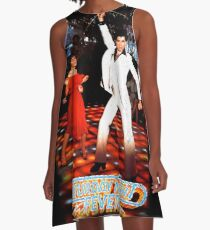 It's Saturday Night Fever, It's Disco Time !! A-Line Dress