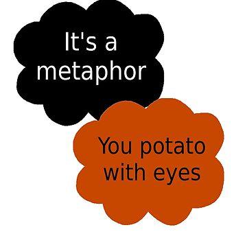 """Orange is the New Black - """"It's a metaphor"""" by leanneegan"""