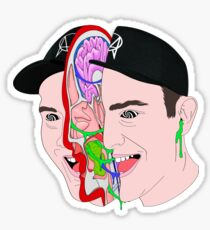 Getter Radical Dude Sticker