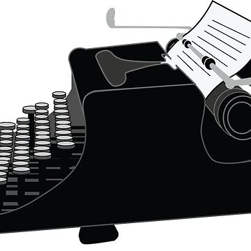 Typewriter by DylanCarlson