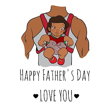 Piggy Back - Father's Day Card by meowsic