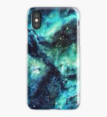 Turquoise Space  iPhone Case/Skin