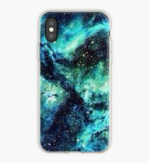 Turquoise Space  iPhone Case