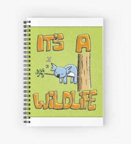 It's a Wildlife - Sleeping Koala Spiral Notebook