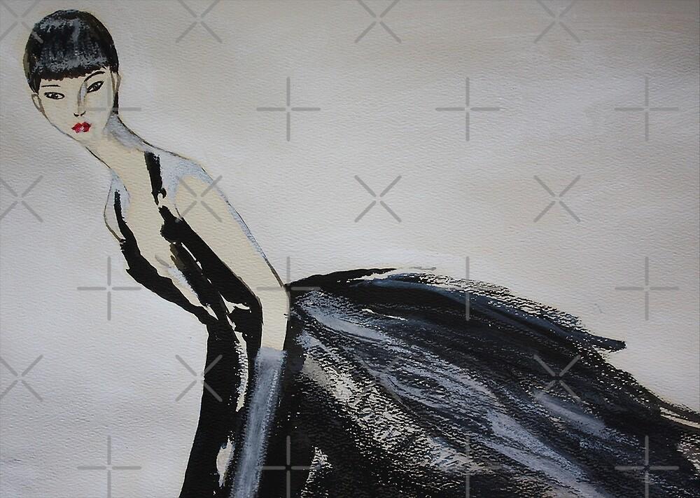 Ming  (Self-Portrait) by Ming  Myaskovsky