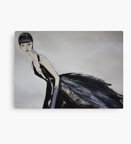 Ming  (Self-Portrait) Canvas Print