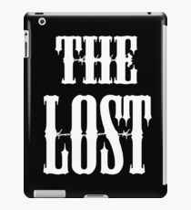 The Lost (Motorcycle Gang Inspired Design) iPad Case/Skin