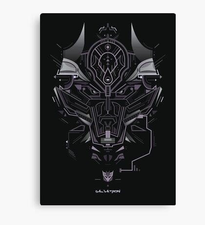 Galvatron Canvas Print