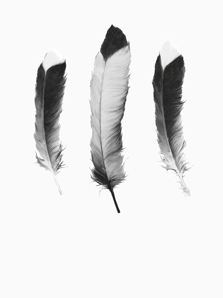 Feathers Sketch by AmyHamilton