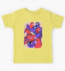 Wrens and Rosellas Delight! Kids Tee