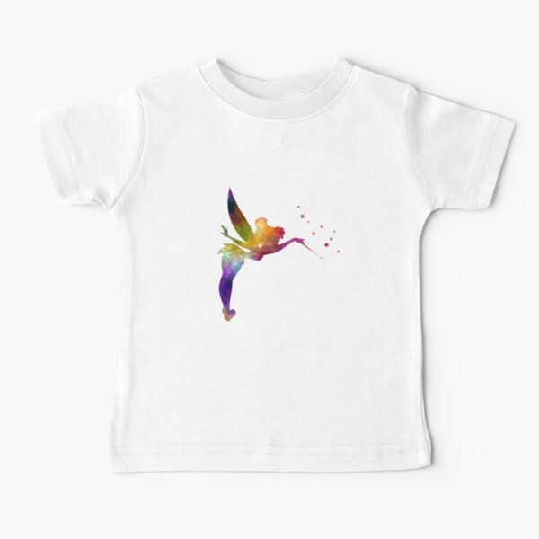 Tinkerbell in watercolor Baby T-Shirt