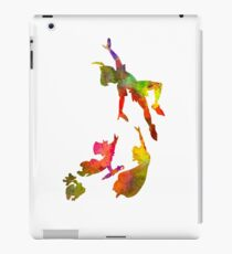 Peter Pan in watercolor iPad Case/Skin
