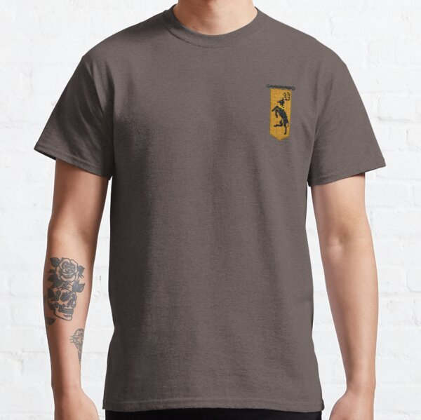 WesterosCraft Crowned Stag Pixel Art Sigil Banner Classic T-Shirt