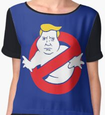 trump buster Women's Chiffon Top
