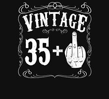 Vintage middle finger salute 36th birthday gift funny 36 birthday 1980 Unisex T-Shirt
