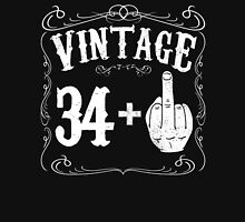 Vintage middle finger salute 35th birthday gift funny 35 birthday 1981 Unisex T-Shirt