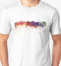 Dortmund skyline in watercolor background Unisex T-Shirt