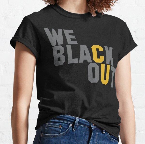 Colorado Buffaloes Blackout Party Classic T-Shirt