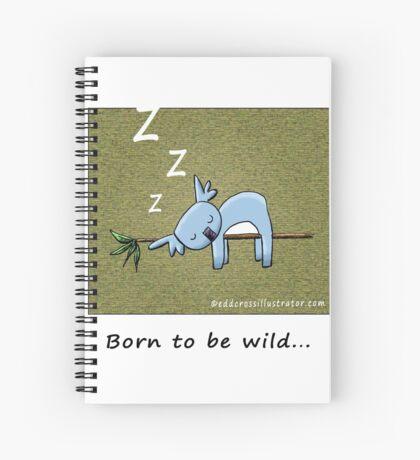 Koala - Born To Be Wild Spiral Notebook