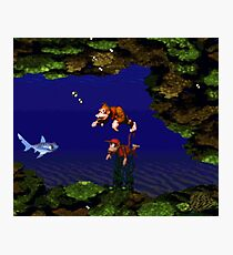 Donkey Kong Country - Coral Capers Photographic Print