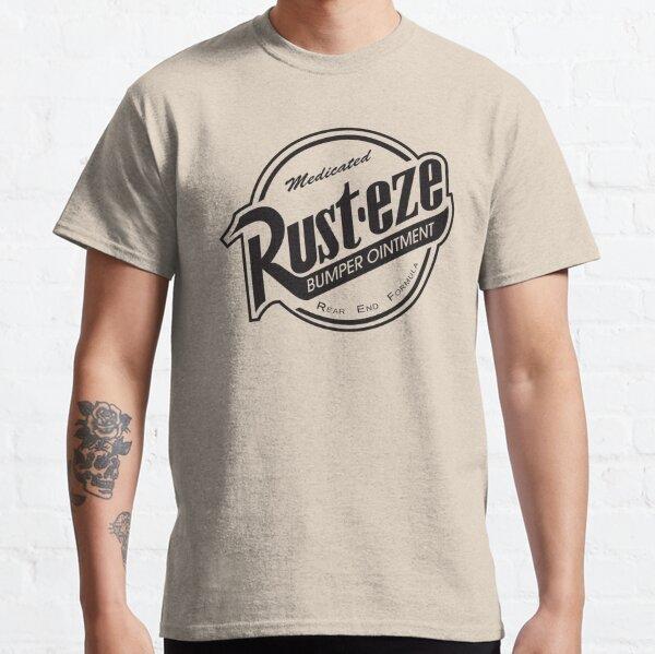 Rust-eze Logo Solid Black Classic T-Shirt