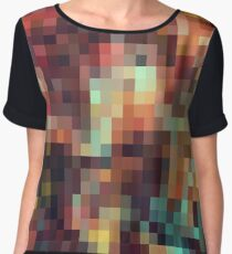 Nature Pixels No.11 Women's Chiffon Top