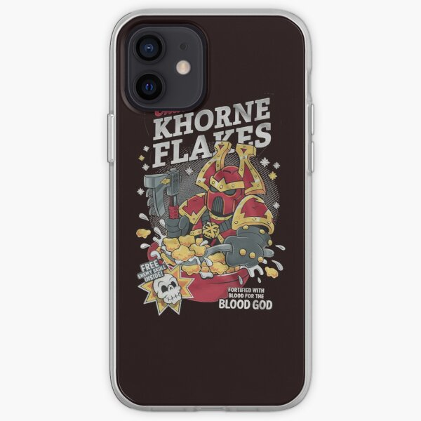 Chaos khorne flakes Fortified with blood for the blood god Classic TShirt1046 iPhone Soft Case
