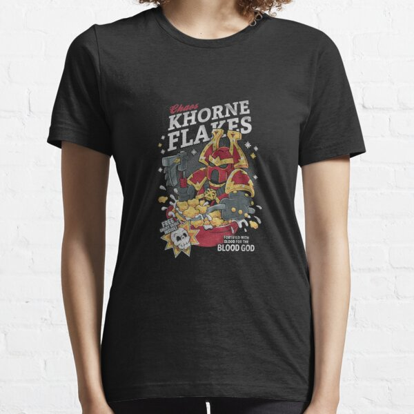 Chaos khorne flakes Fortified with blood for the blood god Classic TShirt1046 Essential T-Shirt