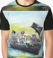 Pirate Booty Beach Graphic T-Shirt