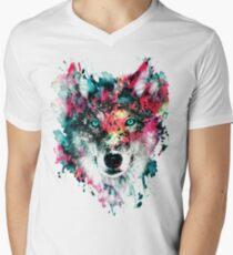 Wolf II Men's V-Neck T-Shirt