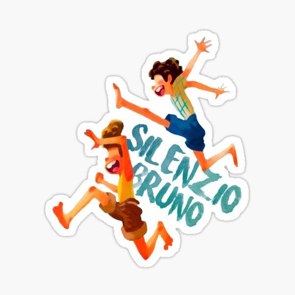 LUCA AND ALBERTO - SILENZIO BRUNO Sticker