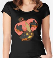 Pumpkin Party Women's Fitted Scoop T-Shirt