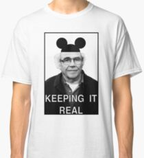 Baudrillard - Keeping it real Classic T-Shirt