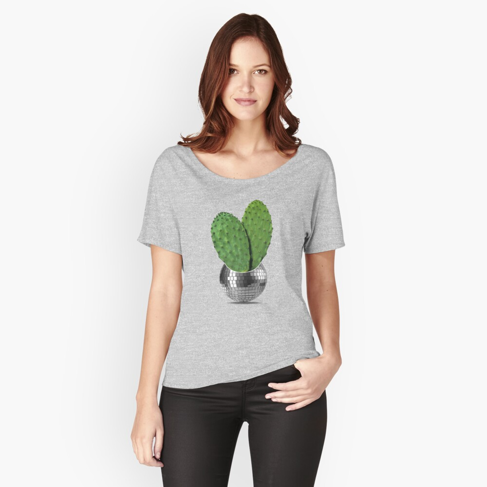 Cactus disco party Relaxed Fit T-Shirt